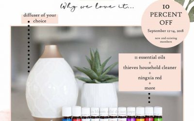 Young Living Essential Oil Starter Kit SALE